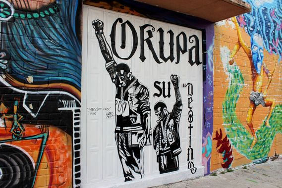 The rise of revolutionary street art in Oaxaca, Mexico