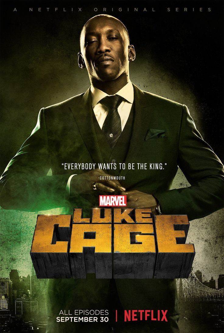 Luke Cage  A ton of new pictures, as well as character posters for the series' villains, have been released. Much more at the link.