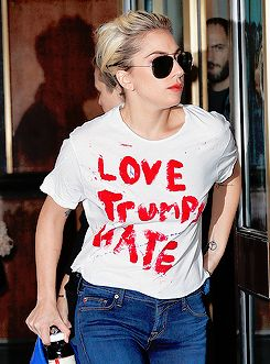 Lady Gaga in New York City, USA on November 9, 2016.                                                                                                                                                                                 Mais