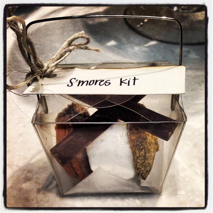S'mores kit at our holt renfrew pop up :)  #soirette #macaron #S'more