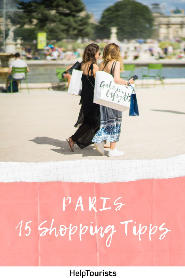 Paris Top 15 Shopping Tipps