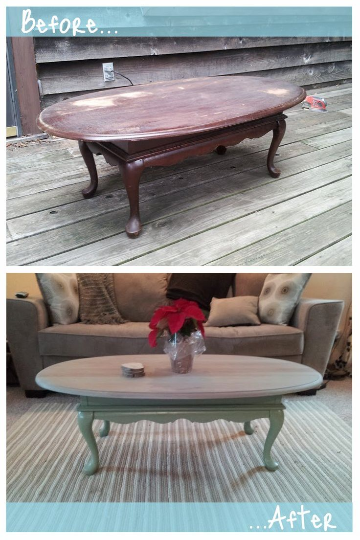 Best 25 painted coffee tables ideas on pinterest beach house before and after coffee table refinished geotapseo Choice Image