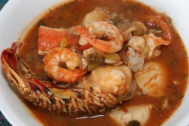 Lobster And Shrimp Cioppino Recipe — Dishmaps