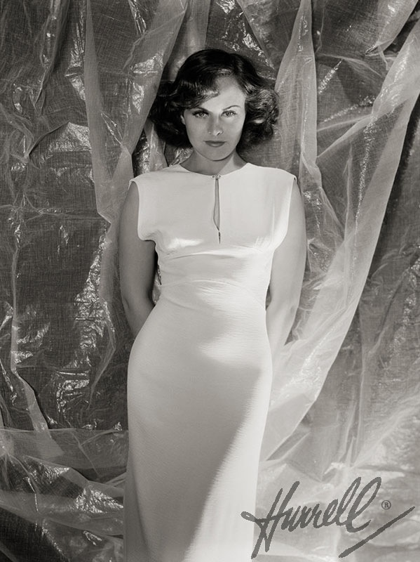 Paulette Goddard by George Hurrell