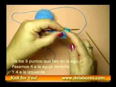Cómo tejer calcetines desde el primer punto al último. EN ESPAÑOL Aquí encontrarás las instrucciones del mismo. http://www.delabores.com/index.php?option=com_content&vi...