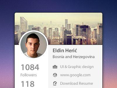 Download Mini Profile