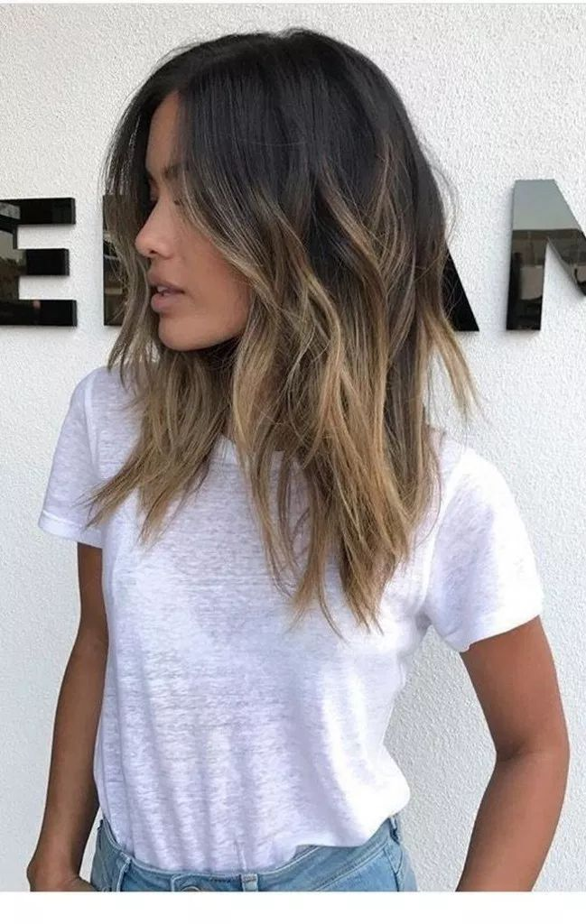 √77 Balayage Hair Color Ideas for Brunettes in 2+#Balayage #brünettes #classpintag #Color #explore #Hair