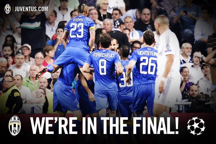 We're in the final!