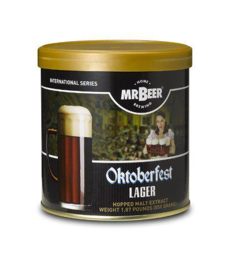Mr. Beer Oktoberfest Lager Home Brewing Beer Refill Kit http://kitchenammo.com/store/kitchen/mr-beer-oktoberfest-lager-home-brewing-beer-refill-kit/