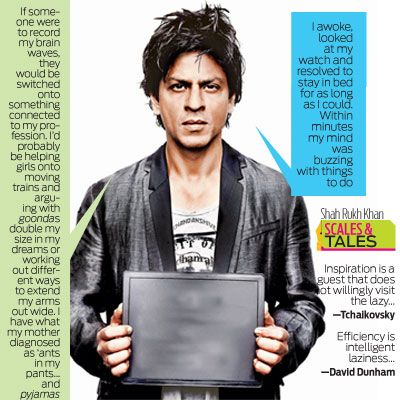 For Pisceans, laziness kills creativity, writes Shah Rukh Khan | Latest News & Updates at Daily News & Analysis