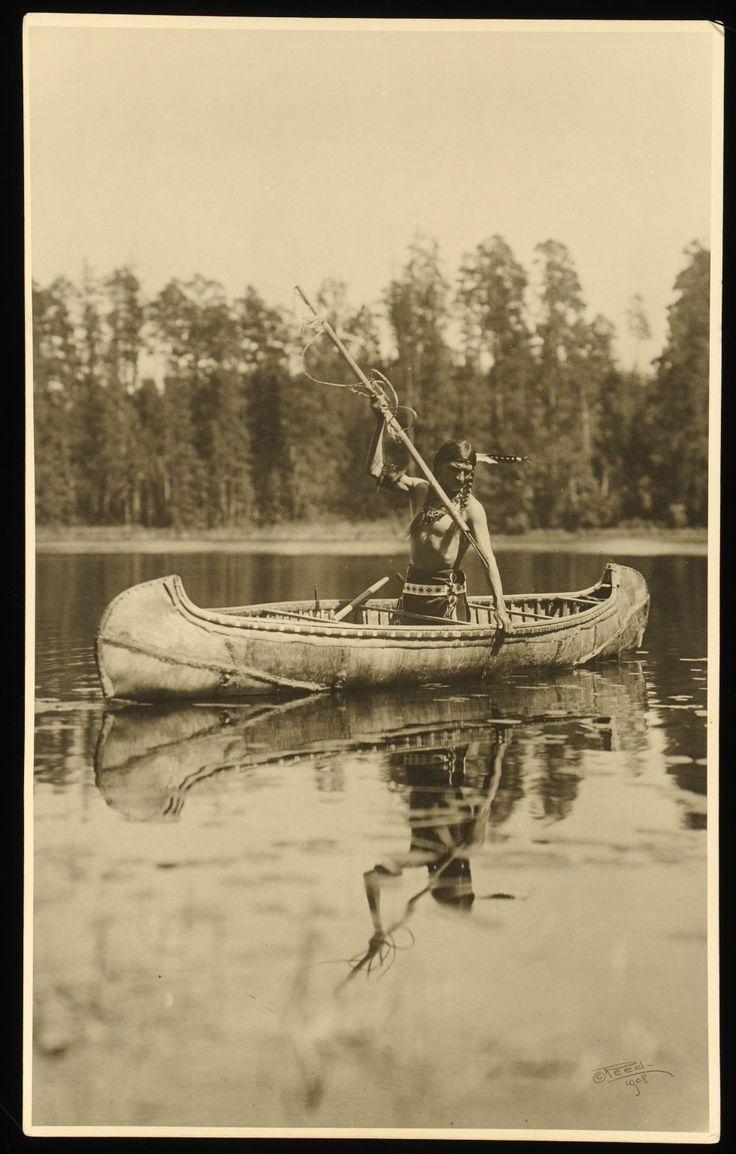 Ojibway Fisherman by Roland W. Reed