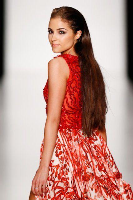 Miss Universe USA 2012 titleholder, American Olivia Culpo...