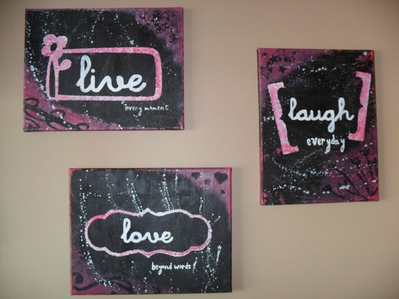 Live Laugh Love Wall art $50.00