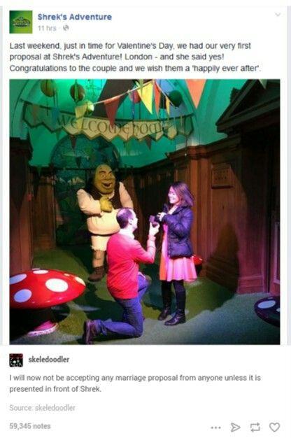 I want to go here soooooo bad. I LOVE Shrek!