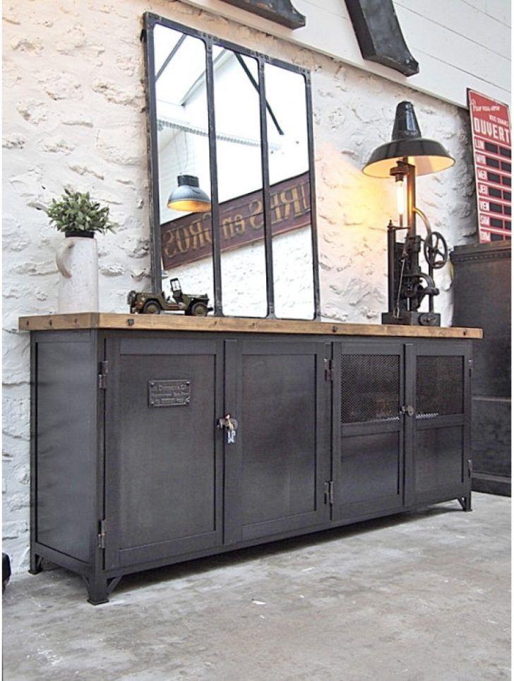 Meuble Industriel Exemple Fabrication Meuble Industriel P1014407 Cool Furniture Transforming Furniture Workspace Inspiration
