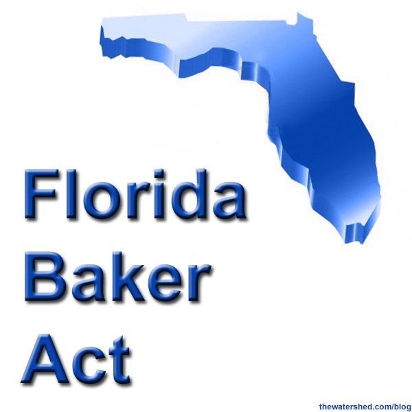 The Florida Baker Act is a means provided by the state of Florida to help individuals who are suffering from mental health illnesses obtain emergency services. This service usually includes a temporary detention for a full mental health evaluation and treatment if needed; this is either done on a voluntary or an involuntary basis....