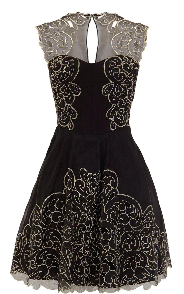 Baroque Lace Dress / karen millen