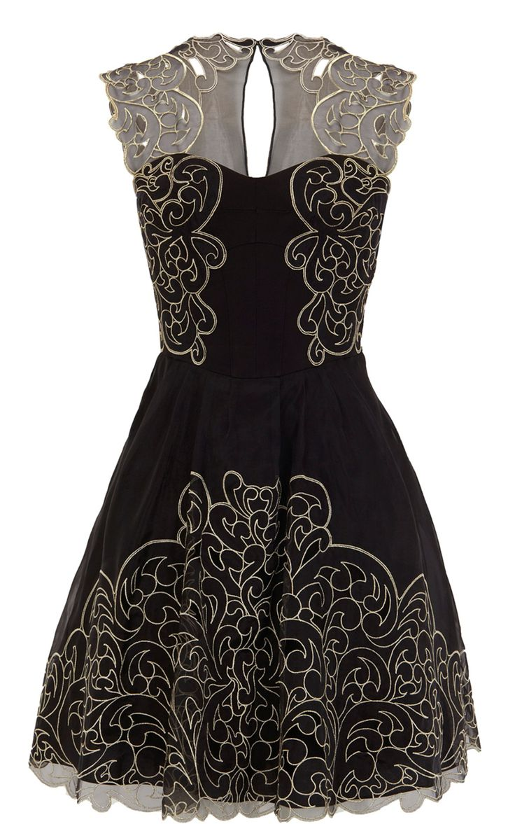 Karen Millen Baroque Cutwork Lace Dress... Wow