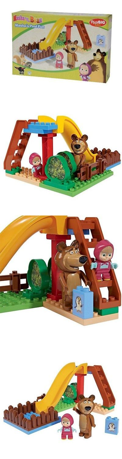 Dolls And Bears: Bricks Playbig Bloxx Masha And The Bear Pool Fun 800057094 29Pcs -> BUY IT NOW ONLY: $49.0 on eBay!