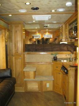 Cimarron Horse Trailer w/ Outlaw Conversions Living Quarter!