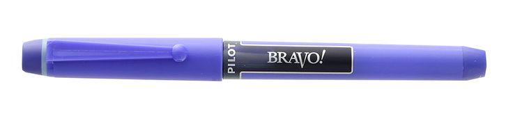 Pilot Bravo Blue Liquid Ink Marker Pens, Bold Point