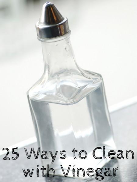 25 household uses for vinegar uses for vinegar cleaning vinegar and vinegar. Black Bedroom Furniture Sets. Home Design Ideas