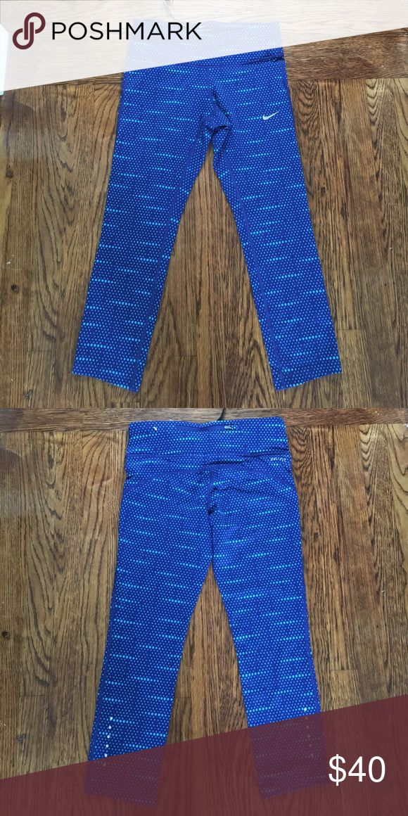 Nike dri fit epic run print crop tights Nike dri fit epic run print crop tights Nike Pants Track Pants & Joggers