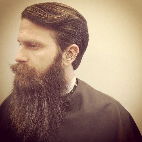 1000+ images about Beards on Pinterest | Shave it, Posts and Lady