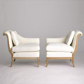 Jan Showers | Shop | UPHOLSTERY | CHAIRS | DANIELE TETE A TETE