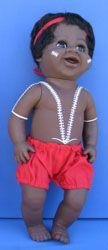 "Aboriginal Boy Doll [large - 16""] Price:  $35.00"