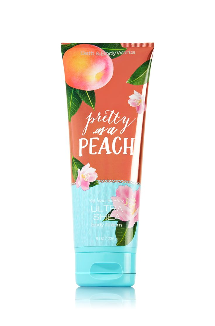 Pretty as a Peach Ultra Shea Body Cream - Signature Collection - Bath & Body Works