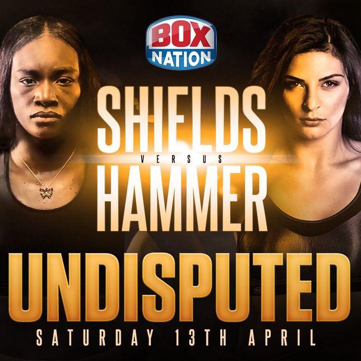 ShieldsHammer tonight 1.30am Boxnation Boxing Box