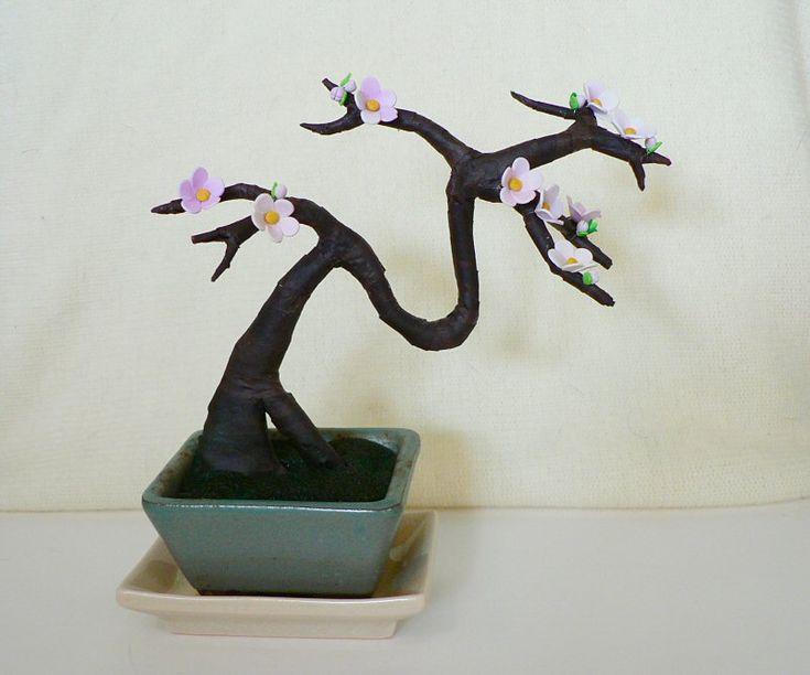 how to do a artificial bonsai sakuraidea for the branches directions