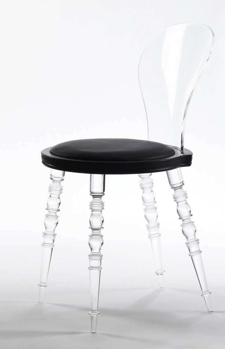 Black and white chair photography - Babel Chair 2010 By Marcel Wanders Wood And Upholstered Seat Plastic Back And