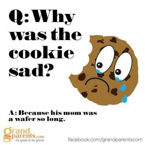 Cookies Jokes Riddles Funny Food Baking Corny Jokes Funny Jokes For Kids Food Jokes