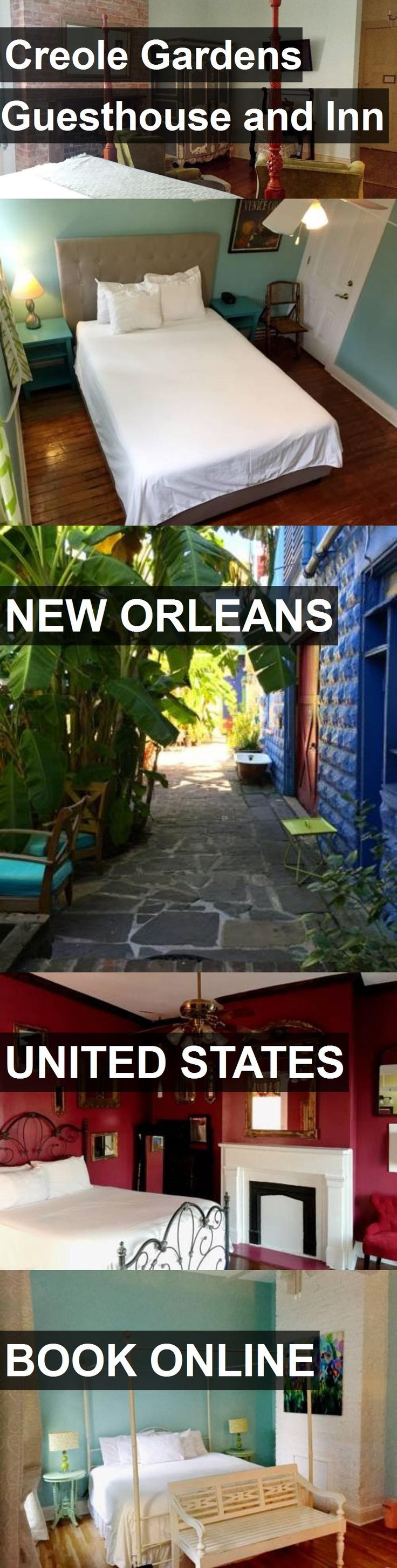 Hotel Creole Gardens Guesthouse and Inn in New Orleans, United States. For more information, photos, reviews and best prices please follow the link. #UnitedStates #NewOrleans #travel #vacation #hotel