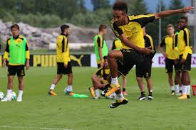 Shaka Hislop and Alexis Nunes react to Peter Bosz's big call to omit Aubameyang from Dortmund's squad to face Stuttgart.    Pierr...