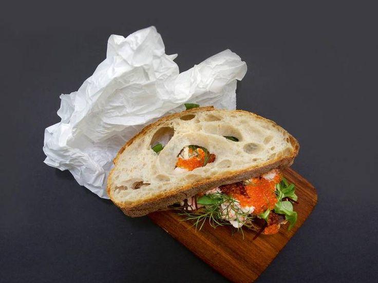 Oppskrift på sandwich med skagenrøre av Terje Ness - DN.no