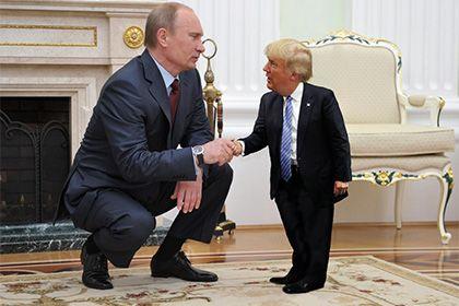 Крошечный Дональд Трамп стал мемом: Мемы: Интернет и СМИ: Lenta.ru  Lmbo!