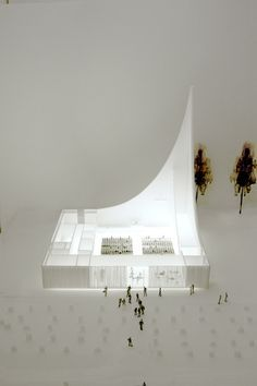 Space cult church ship by WE Architecture