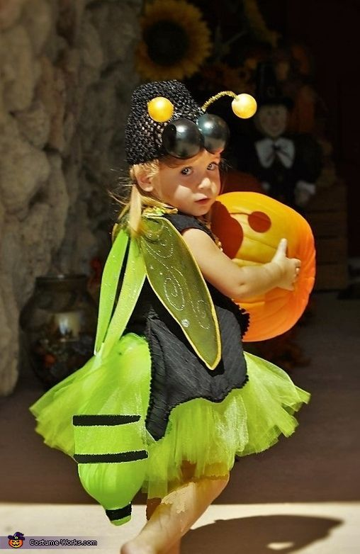 Darcy: A bug costume with a lighted tail. We were visiting friends up north when the kids saw lightning bugs for the first time and have been fans ever since. I...