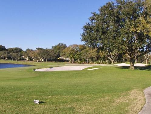 Remarkable Bay Hill golf course frontage lot