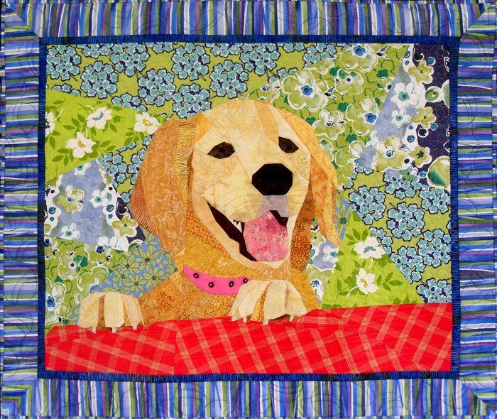 Quot Ellie Pup Quot 32 X 36 Quot A Paper Pieced Quilt By Sue