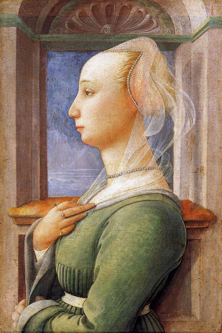 Fra Filippo Lippi. Retrato de mujer.