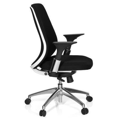 Hjh Office - Fauteuil de bureau ergonomique Avator design noir et blanc - noir / blanc Achat/Vente Sièges et fauteuils de bureau | Rue du commerce