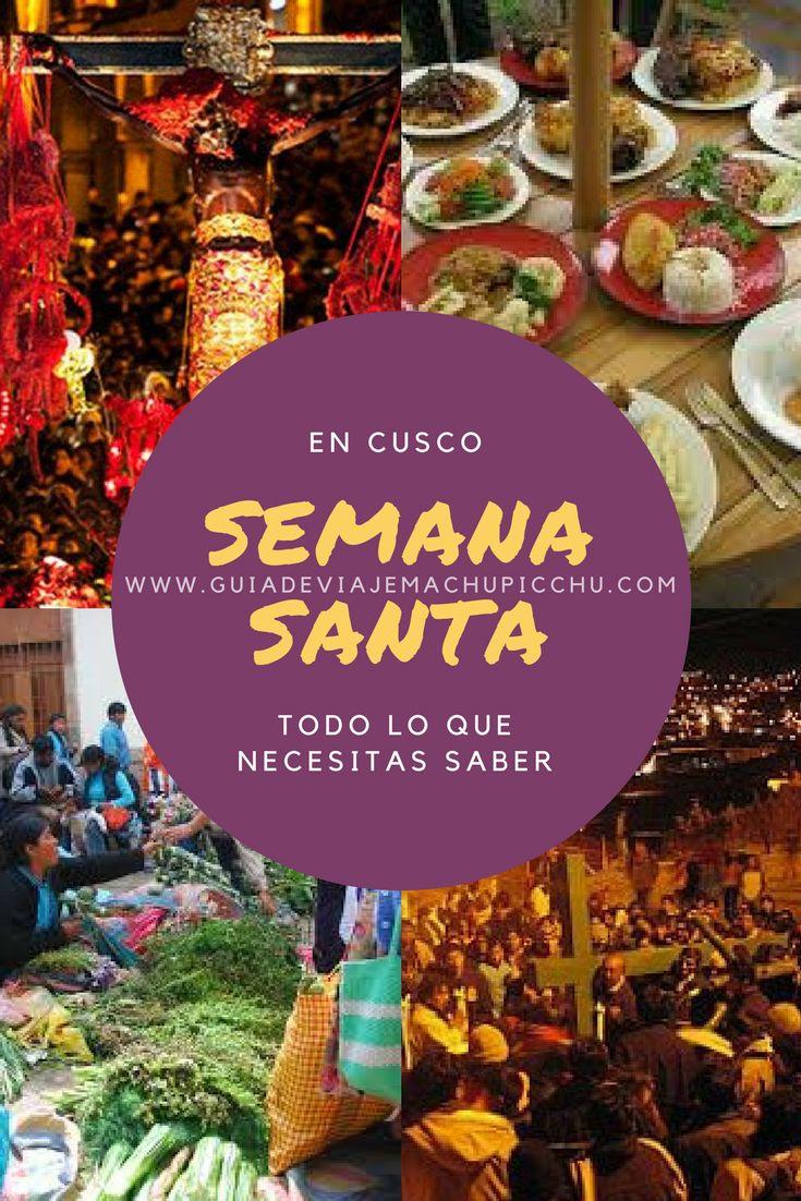 La ciudad de Cusco está llena de tradiciones y rituales.  Es una buena época para viajar a Perú, y poder vivirlas desde adentro en la Semana Santa en #Cusco. #viajar #travel #peru #HolyWeek #Easter