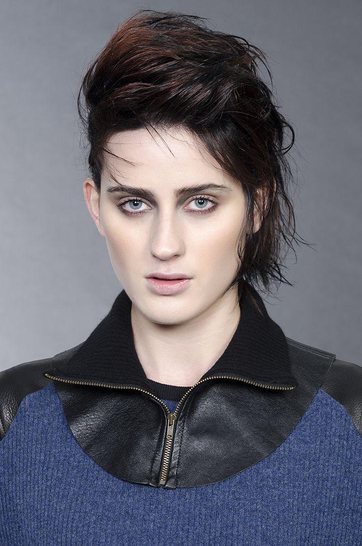 Jane Sutherland winter 2016  Leather neckpiece