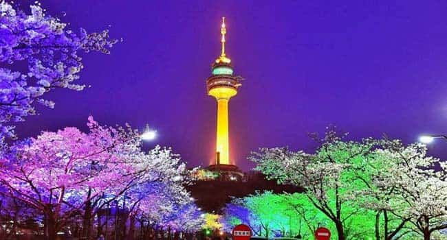 N Seoul Tower - Tempat Wisata Di Korea Selatan yang Paling Populer