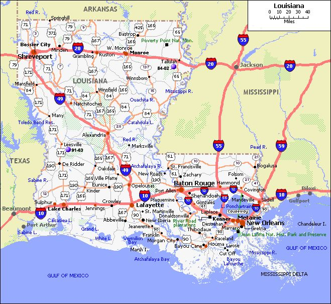 Maps+of+Louisiana+Where | Thread: map of louisiana