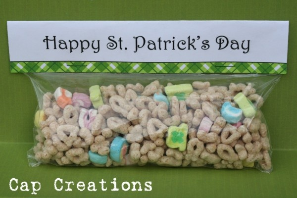 Lucky Charms Bag topper